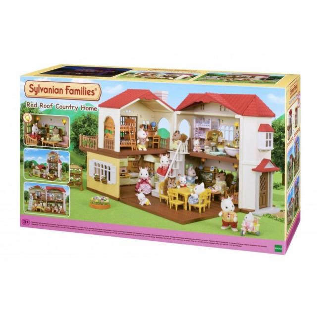 Obrázek produktu Sylvanian Families 5302 Patrový dům s červenou střechou a světly
