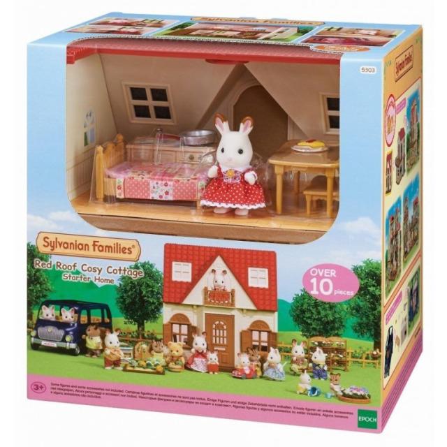 Obrázek produktu Sylvanian Families 5303 Základní dům s červenou střechou