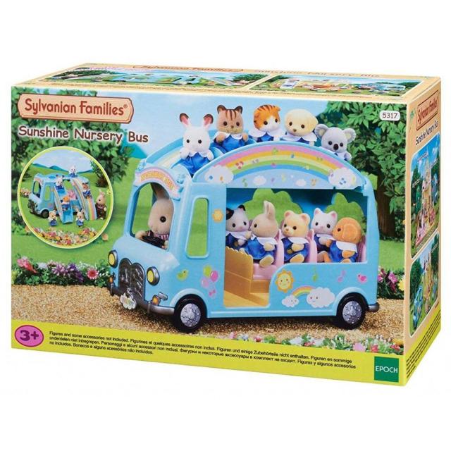 Obrázek produktu Sylvanian Families 5317 Duhový školkový autobus
