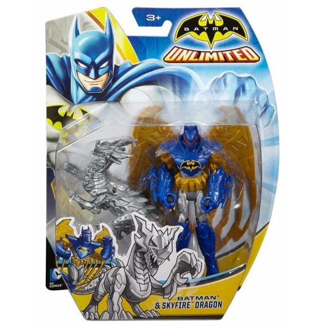 Obrázek produktu Batman a Skyfire Dragon, Mattel CGN51