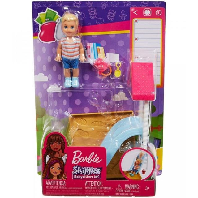 Obrázek produktu Mattel Barbie Příběh z deníku chůvy herní set FXG96