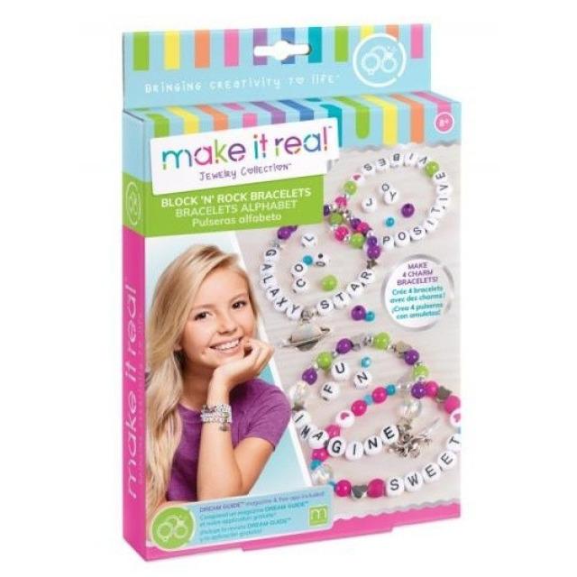 Obrázek produktu Make It Real Písmenkové náramky