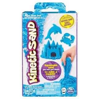 Obrázek 1 produktu Kinetic Sand Kinetický písek neonově modrý 227g