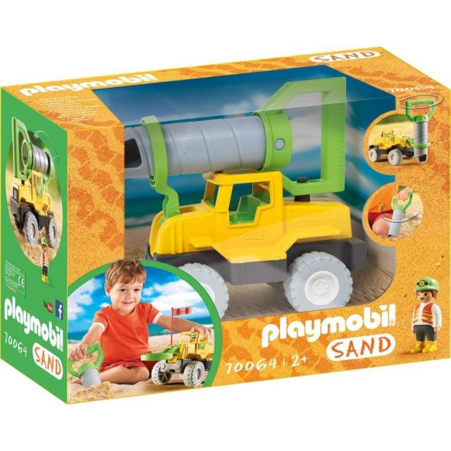 Obrázek produktu Playmobil 70064 Vrtná souprava do písku