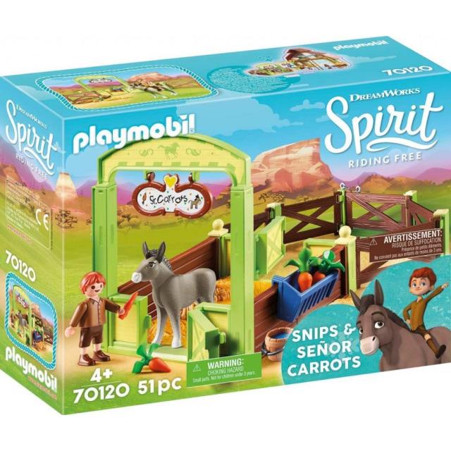 Obrázek produktu Playmobil 70120 Koňský box Šmik a Seňor Mrkvička