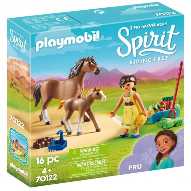 Obrázek produktu Playmobil 70122 Próza s koněm a hříbětem