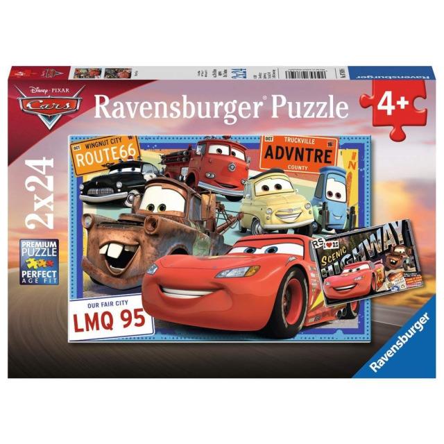 Obrázek produktu Ravensburger 07819 Puzzle Cars 2x24 dílků