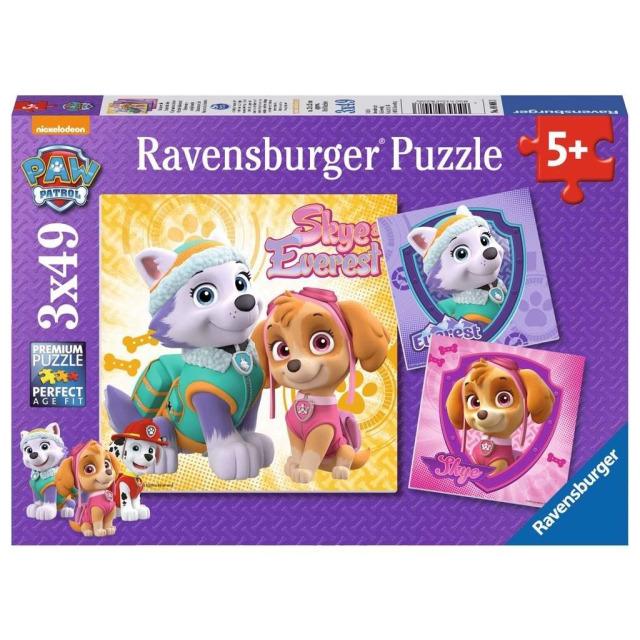 Obrázek produktu Ravensburger 08008 Puzzle Tlapková Patrola 3x49 dílků