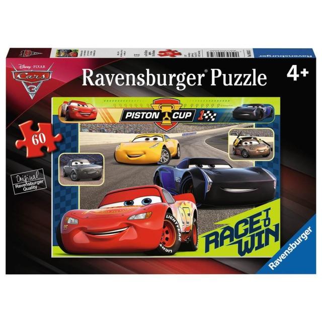 Obrázek produktu Puzzle Disney Auta: Závod začíná 60 dílků, Ravensburger