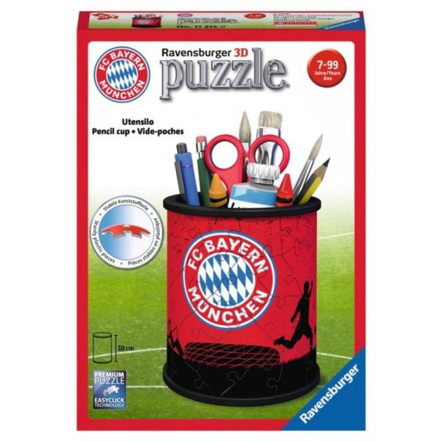 Obrázek produktu Ravensburger 11215 Puzzle 3D Stojan na tužky FC Bayern 54 dílků