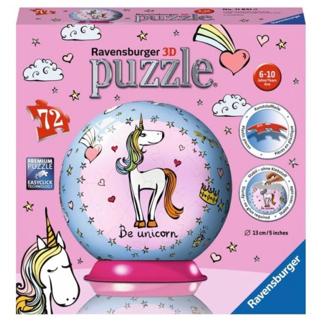 Obrázek produktu Puzzleball Jednorožec 72d. Ravensburger