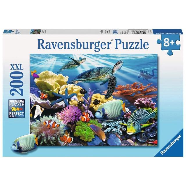 Obrázek produktu Ravensburger 12608 Puzzle Podmořský svět 200 XXL dílků
