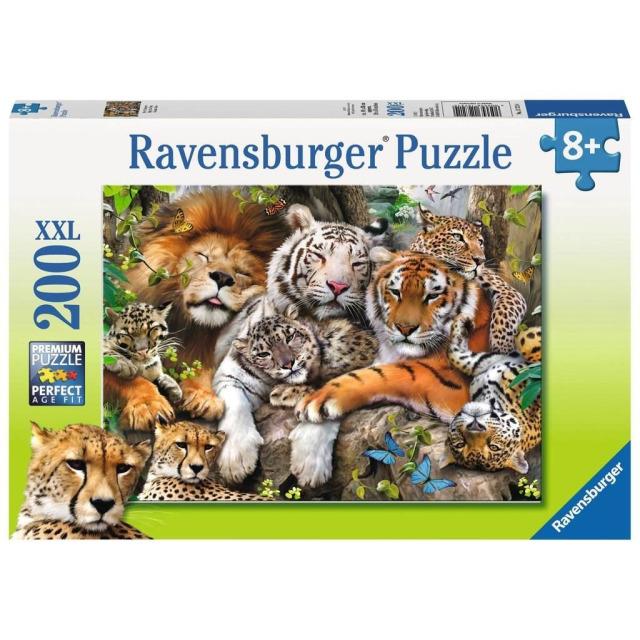 Obrázek produktu Ravensburger 12721 Puzzle Dřímající kočky 200 XXL dílků