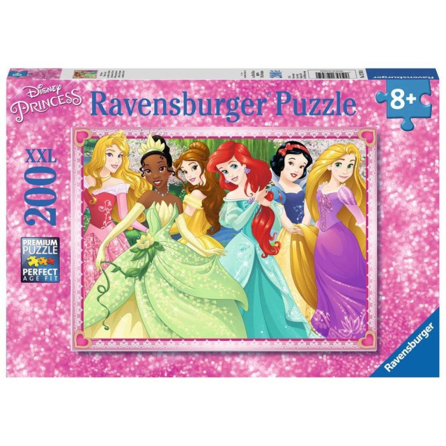 Obrázek produktu Ravensburger 12745 Puzzle Disney Princezny 200 XXL dílků