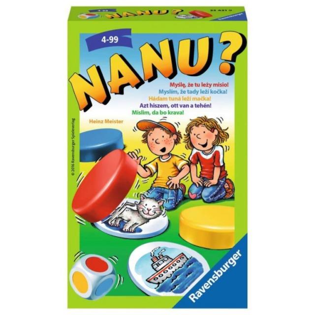 Obrázek produktu NANU cestovní hra, Ravensburger