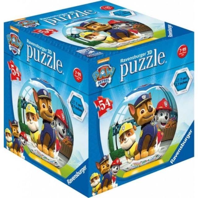 Obrázek produktu Ravensburger 11917-1 Minipuzzle Tlapková Patrola 54 dílků