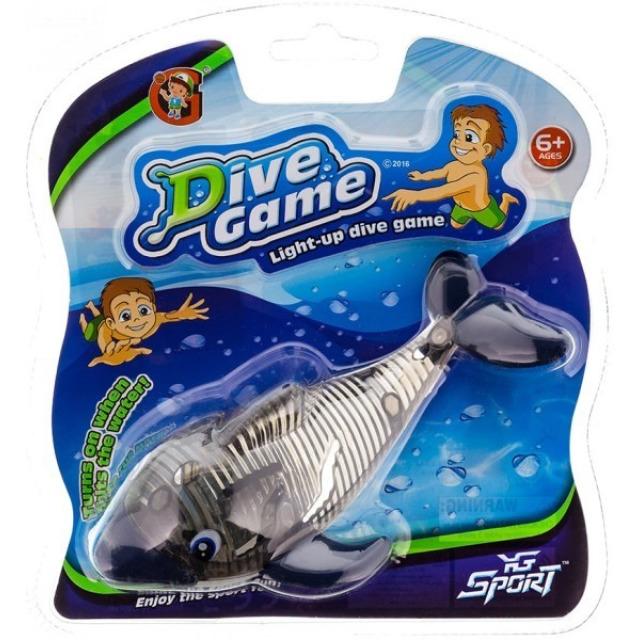 Obrázek produktu Delfín na potápění se světlem, černý