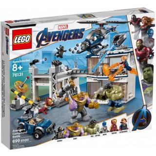 Obrázek 1 produktu LEGO Super Heroes 76131 Bitva o základnu Avengerů
