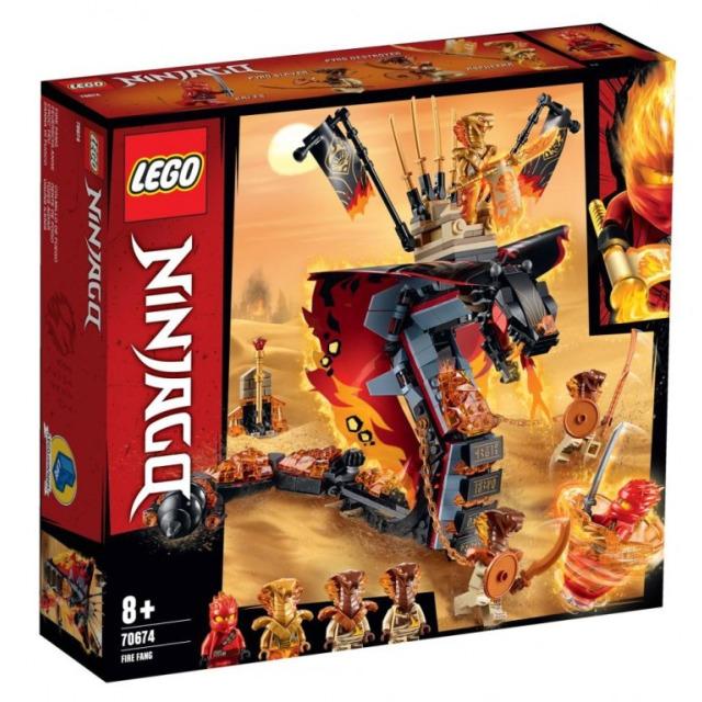 Obrázek produktu LEGO Ninjago 70674 Ohnivý tesák
