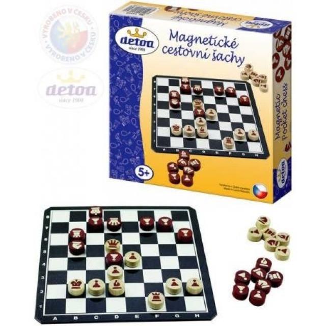 Obrázek produktu Magnetické cestovní šachy, Detoa