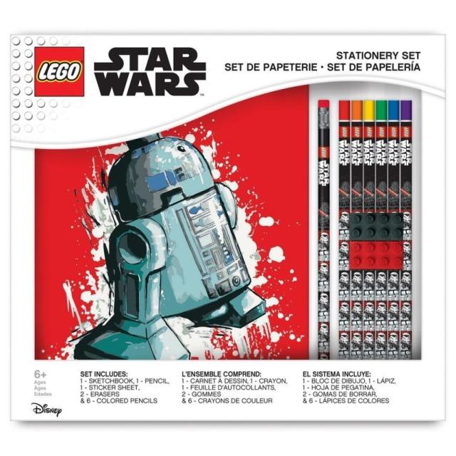 Obrázek produktu LEGO Star Wars Stationery Set se zápisníkem