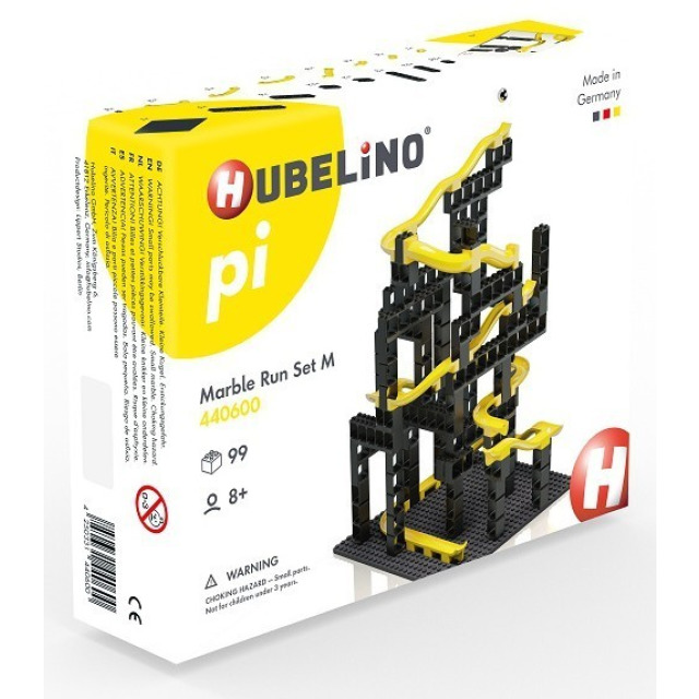 Obrázek produktu HUBELINO Pi Kuličková dráha - set s kostkami M 99 ks