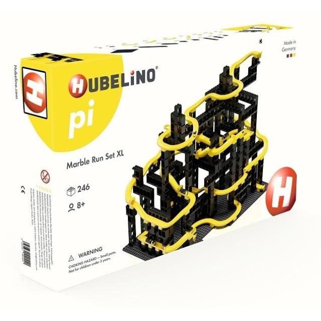 Obrázek produktu HUBELINO Pi Kuličková dráha - set s kostkami XL 246 ks