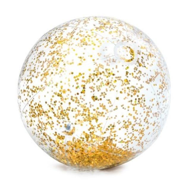 Obrázek produktu Intex 58070 Balón flitrový zlatý