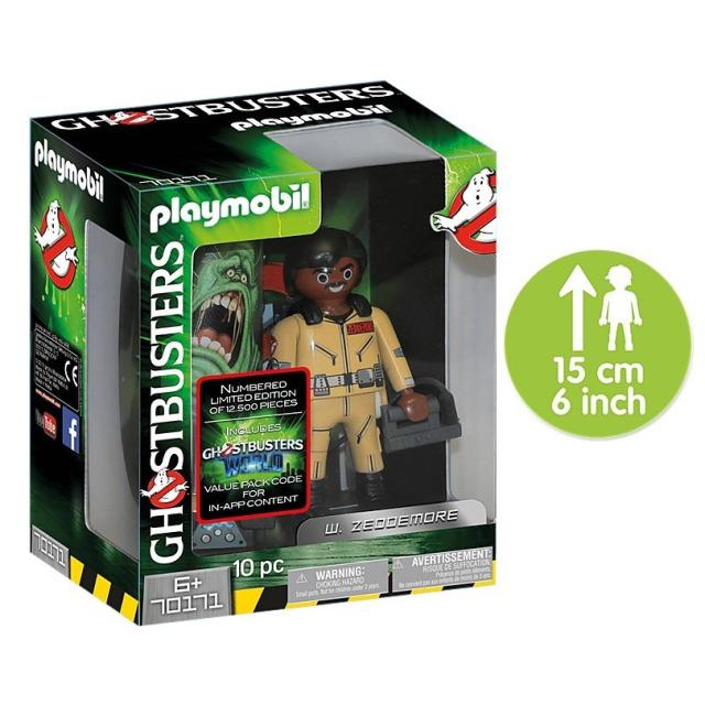 Obrázek produktu Playmobil 70171 Ghostbusters sběratelská figurka W. Zeddemore 15cm