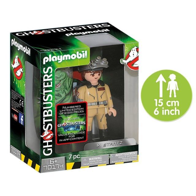 Obrázek produktu Playmobil 70174 Ghostbusters sběratelská figurka R. Stantz 15cm