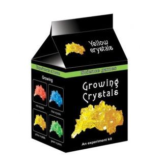 Obrázek 1 produktu Mini chemická sada - Rostoucí krystaly žluté