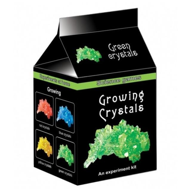 Obrázek produktu Mini chemická sada - Rostoucí krystaly zelené