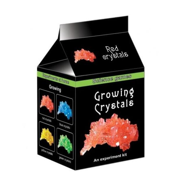 Obrázek produktu Mini chemická sada - Rostoucí krystaly červené