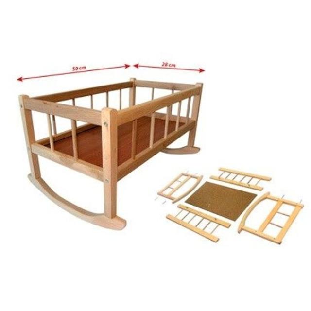 Obrázek produktu Kolébka dřevěná 50 cm