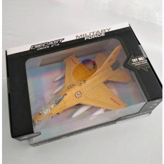 Obrázek 1 produktu Stíhačka kovová se světlem a zvukem 20cm, žlutá