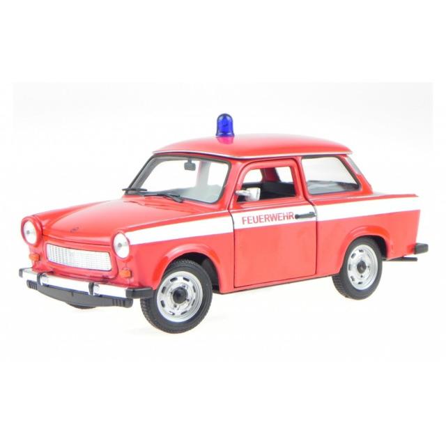 Obrázek produktu Kovový model 1:24 Trabant 601 Hasiči