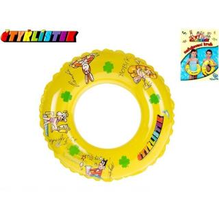 Obrázek 1 produktu Kruh Čtyřlístek transparentní 40cm