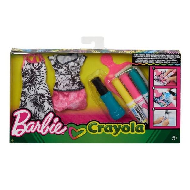 Obrázek produktu Barbie D.I.Y. Crayola batikování růžová, Mattel FPW13