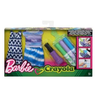 Obrázek 1 produktu Barbie D.I.Y. Crayola batikování modrá, Mattel FPW14
