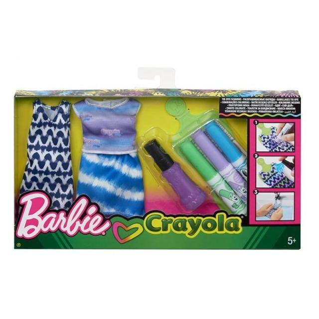 Obrázek produktu Barbie D.I.Y. Crayola batikování modrá, Mattel FPW14