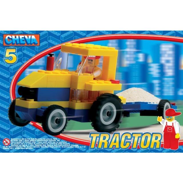 Obrázek produktu CHEVA 5 - Traktor s vlečkou