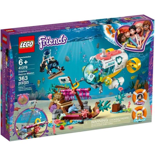 Obrázek produktu LEGO Friends 41378 Mise na záchranu delfínů