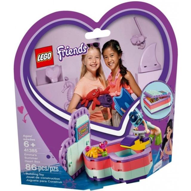 Obrázek produktu LEGO Friends 41385 Emma a letní srdcová krabička