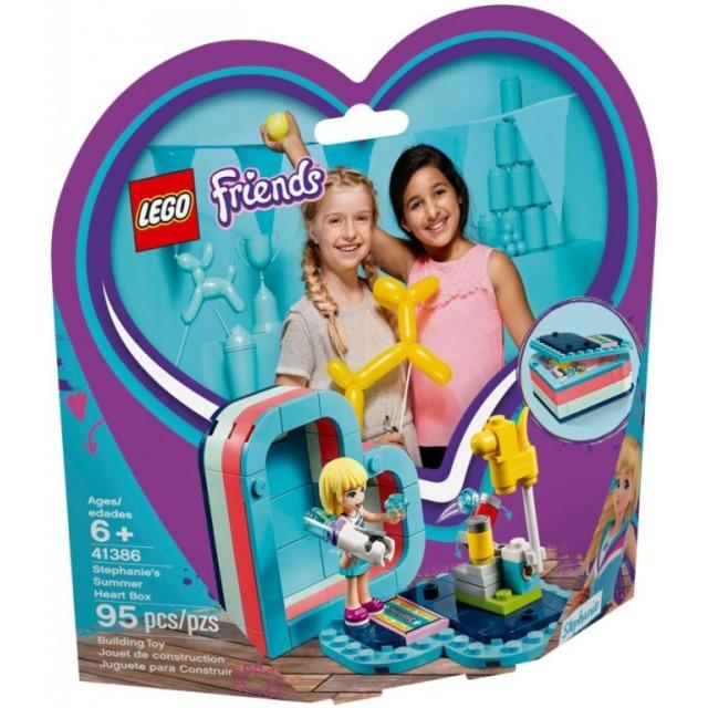 Obrázek produktu LEGO Friends 41386 Stephanie a letní srdcová krabička