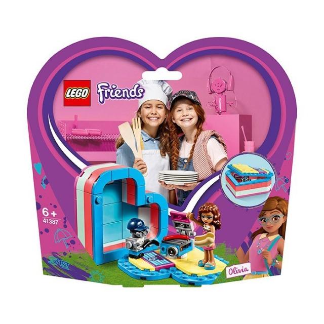 Obrázek produktu LEGO Friends 41387 Olivia a letní srdcová krabička