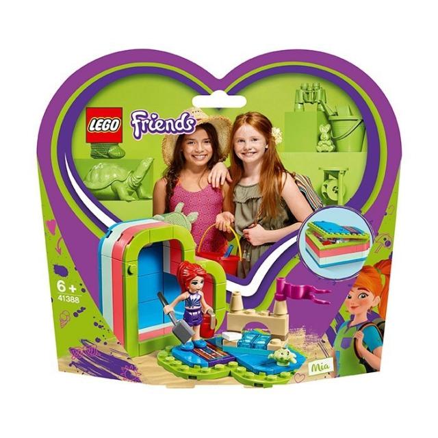 Obrázek produktu LEGO Friends 41388 Mia a letní srdcová krabička