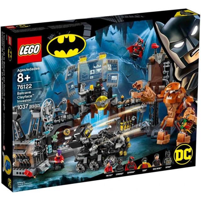 Obrázek produktu LEGO Super Heroes 76122 Clayface™ útočí na Batmanovu jeskyni