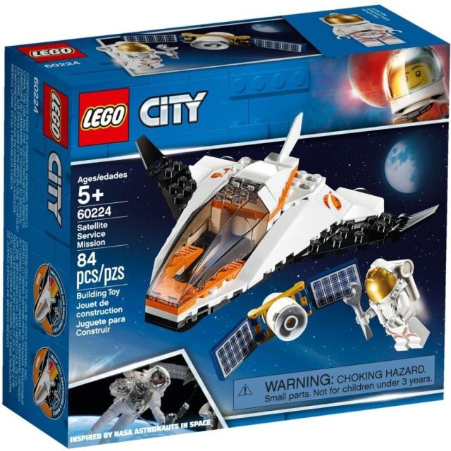 Obrázek produktu LEGO CITY 60224 Údržba vesmírné družice