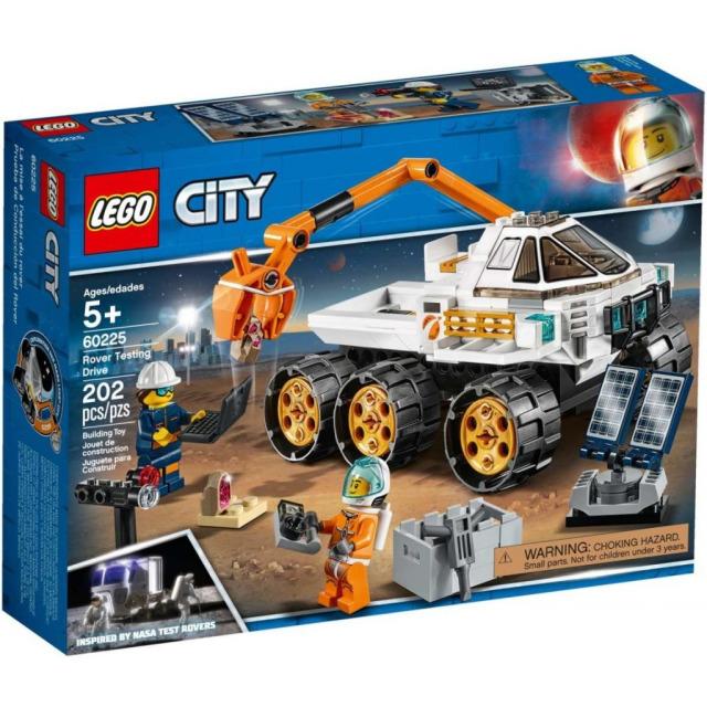 Obrázek produktu LEGO CITY 60225 Testovací jízda kosmického vozítka