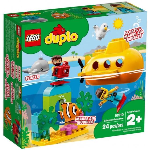 Obrázek produktu LEGO DUPLO 10910 Dobrodružství v ponorce